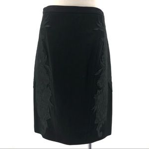 Black Elie Tahari Skirt